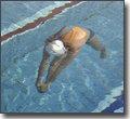 抬头自由泳